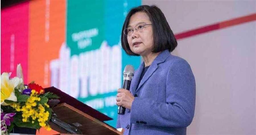蔡英文感謝阿滴為台灣發聲,並表示政治因素不該凌駕健康權利。(圖/報系資料照)