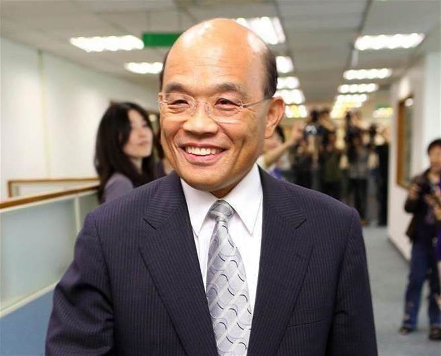 行政院长苏贞昌。 (中时资料照)