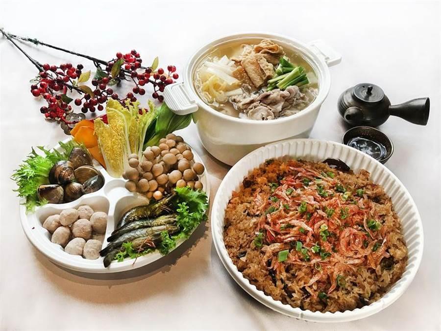 台北國泰萬怡酒店推出冬令食補季鍋物外帶, 四到六人只要999元。(圖/台北國泰萬怡酒店)