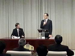 游錫堃:新冠肺炎對形成台灣認同幫助很大
