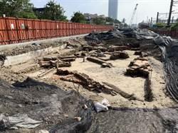 南鐵地下化挖掘 小東路周邊遺構出土