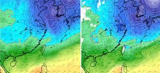 超激變化 專家:明後天防雷雨 這天再急凍