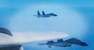 首度護航轟6繞台 陸殲11B成亮點