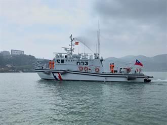 防疫視同作戰 海巡署新造35噸艇抵馬祖增援