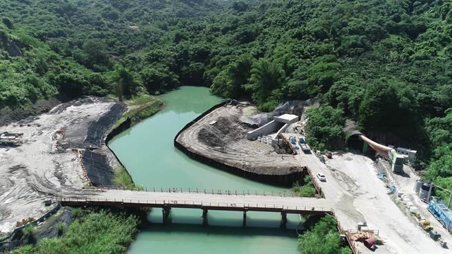 新烏山嶺引水隧道工程9月啟用,配合百年紀念活動將舉行盛大隆重儀式。(烏山頭水庫提供/劉秀芬台南傳真)