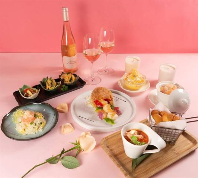 「雙人甜蜜蟹逅饗宴」每套2688元+10%,平均1人不到1500元。(圖珍寶海鮮提供)