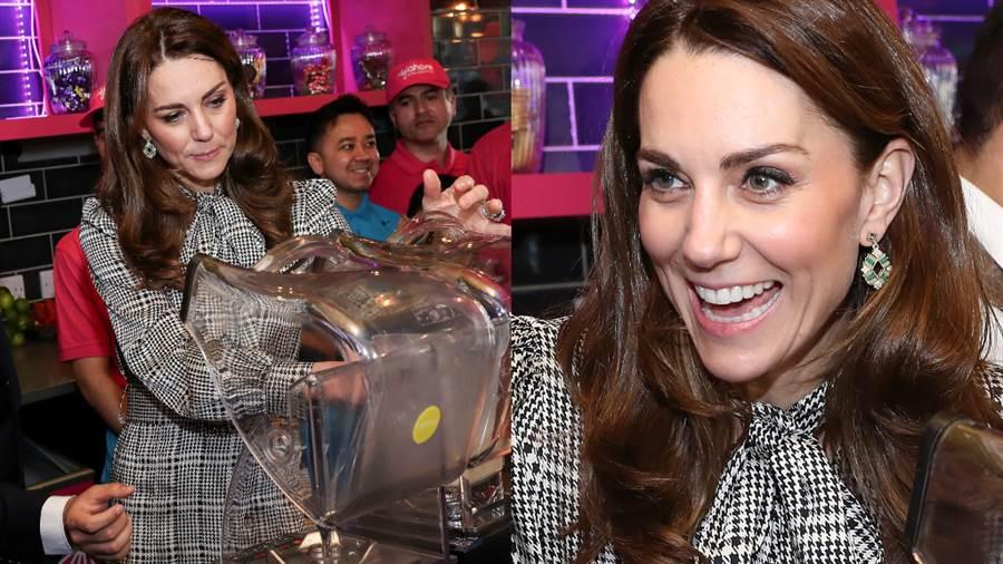 凱特王妃(Kate Middleton)十分熱愛嘗試平價服飾。(圖/達志影像提供)