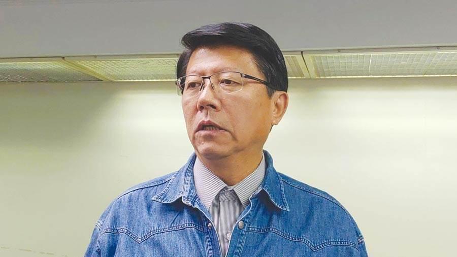 國民黨台南市議員謝龍介。(資料照片,程炳璋攝)