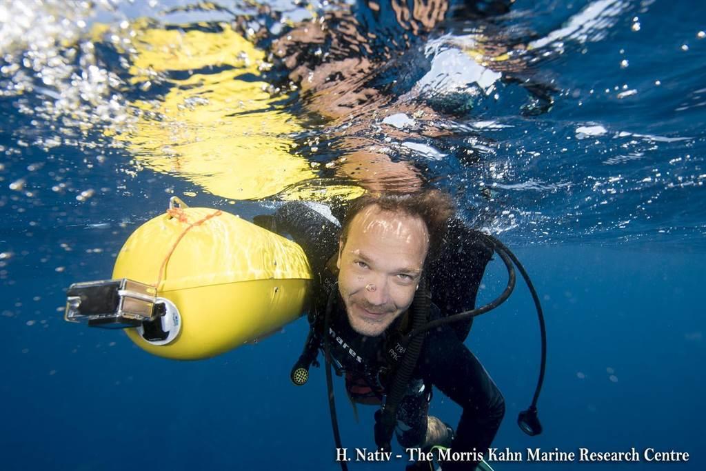 以色列海法大學 莫里斯·卡恩海洋研究中心。(東海大學提供/李侑珊台北傳真)