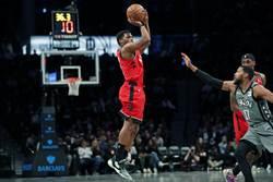 NBA》羅瑞大三元 暴龍15連勝仍喊卡