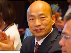 韓國瑜現身行政院會 求援口罩、酒精、耳溫槍