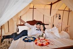 張勛傑撒哈拉沙漠拍婚紗「閃婚」旅遊達人