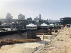 基隆全新交通樞紐曝光 舊火車站圍籬拆除民眾驚呼