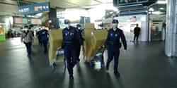 警署配發台中市3萬600個口罩保護4000外勤員警
