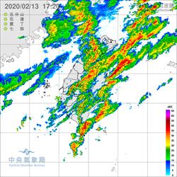 雨用倒的!氣象局晚間對五縣市發豪大雨特報