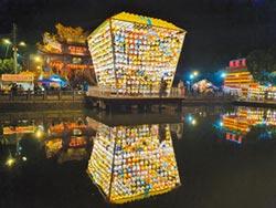 三峽超大孔明燈 延展至16日