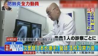 次氯酸日本也搶手! 醫師:溫和、殺菌力強