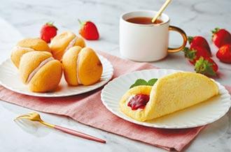量販、超市草莓甜點銅板價 情人節共享小確幸