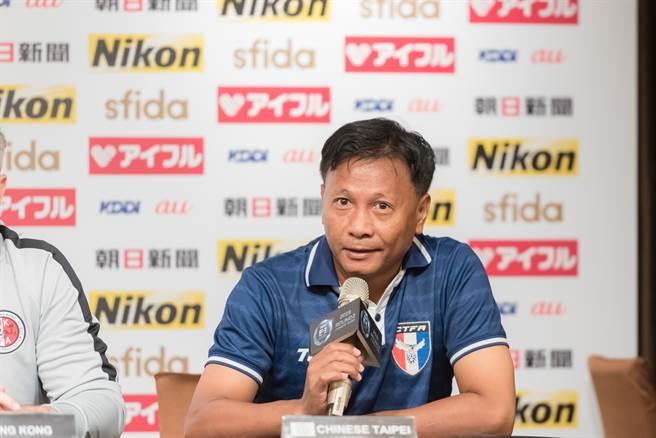 王家中接下中華隊男足總教練。(中華足協提供)