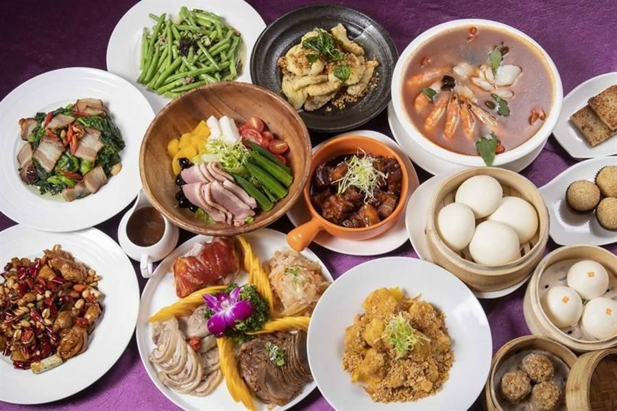萬華凱達大飯店推出「饗食趴趴GO外送」服務,有3種合菜套餐可選擇,且4公里內免運費。(圖/凱達大飯店提供)