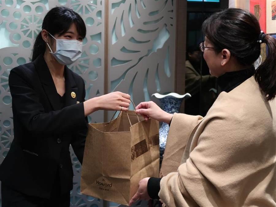 台北福華飯店搶外帶商機,推點餐To-Go只要20分鐘。(圖/台北福華飯店提供)