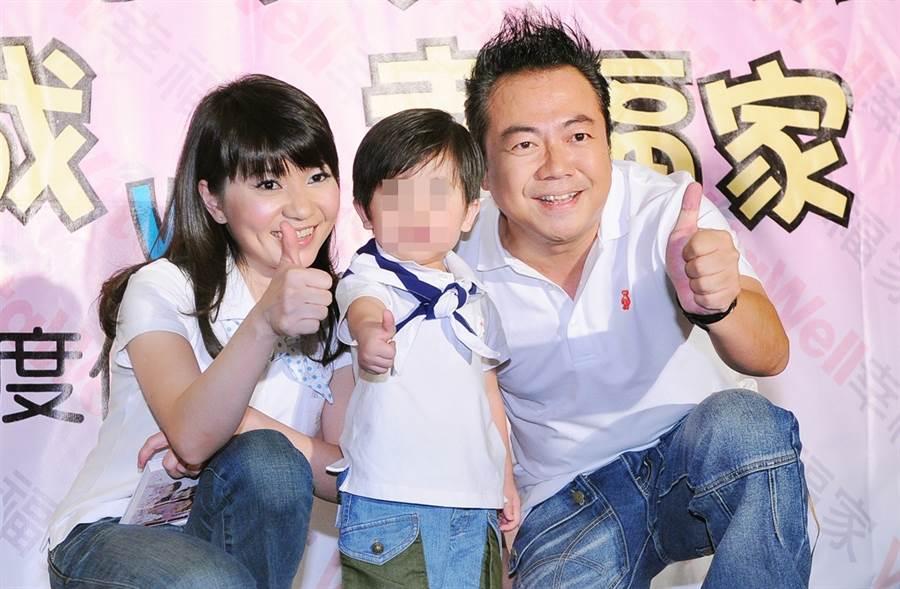 董至成和老婆羅若云傳21年婚變。(圖/中時資料照片)