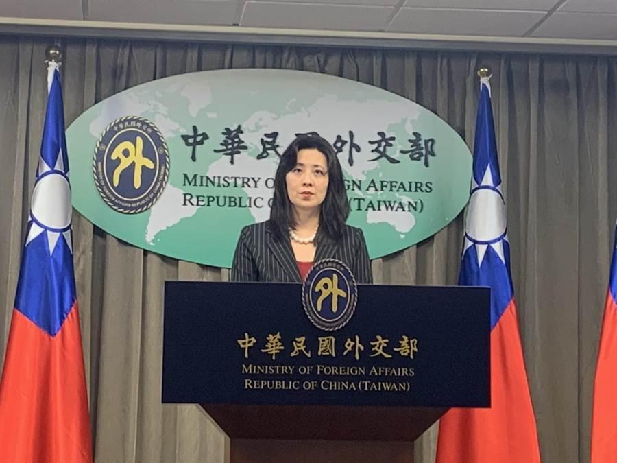 外交部發言人歐江安。(楊孟立攝)