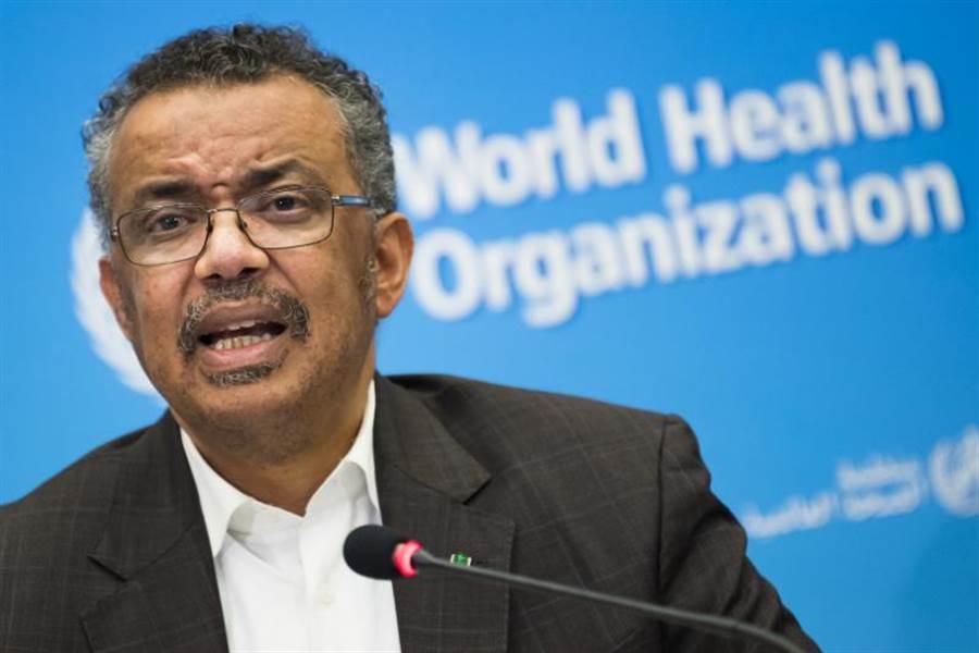 世界衛生組織秘書長譚德塞否認遭陸施壓,解釋因大陸採取很多措施減緩病毒傳播,「事實會說話」。(美聯社)