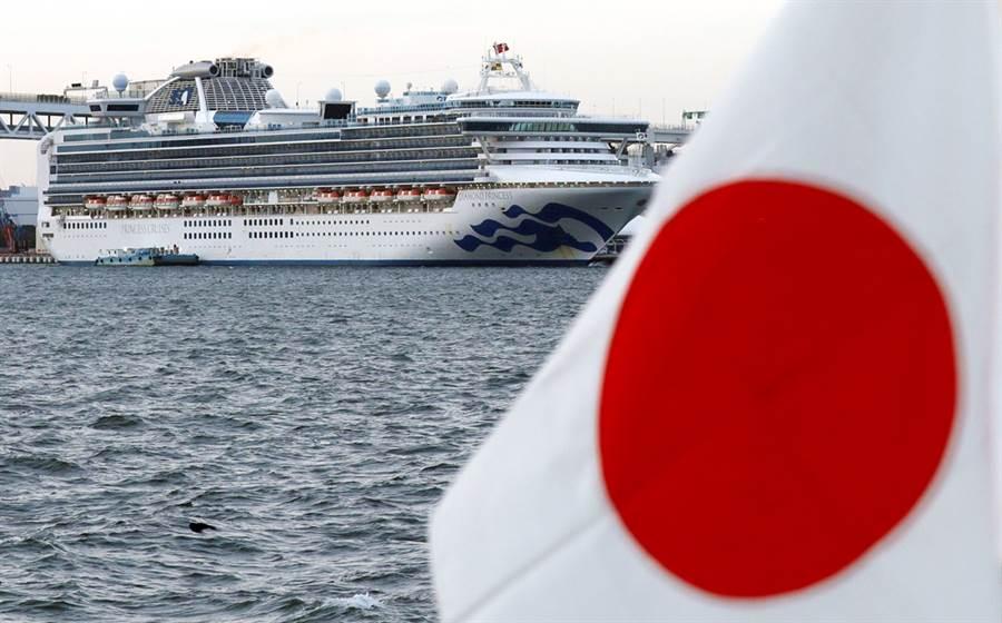 「鑽石公主號」郵輪每天爆出新確診病例,令各國擔心日本防疫能力不足,全球已有4個國家對日本祭出旅遊限制。(圖/路透社)