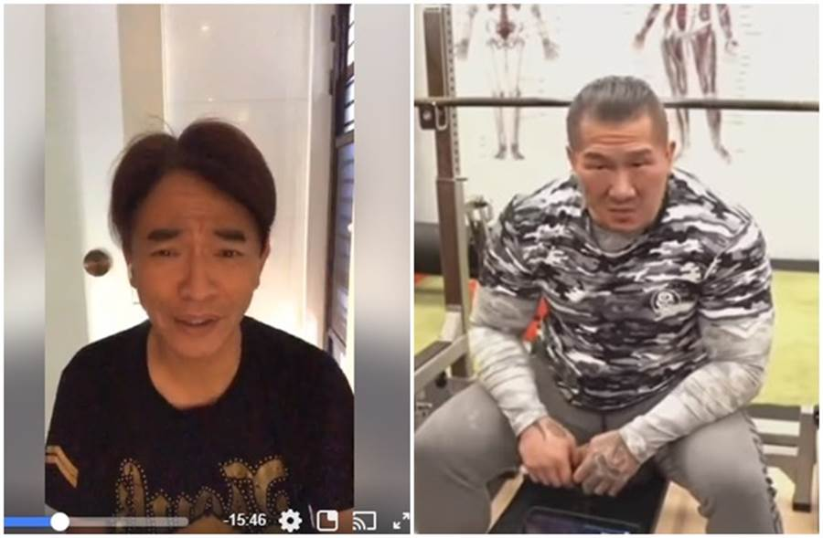 馆长、吴宗宪再爆战火。 (取自吴宗宪脸书、馆长YouTube)