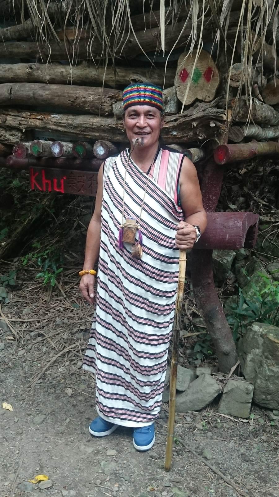 泰雅族人鄭保雄致力傳承口簧琴文化,在部落巡視水源時,疑失足落水溺斃,得年58歲。(參山處提供/王文吉台中傳真)
