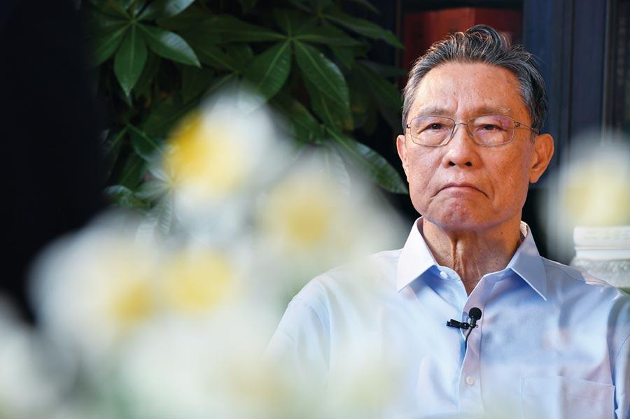 大陸國家衛健委高級別專家組組長鍾南山。圖/新華社