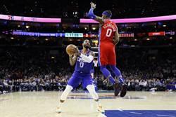 NBA》100萬飛了!喬治批評裁判挨罰