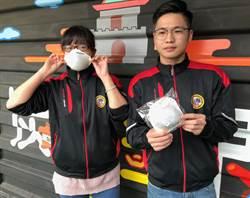 金門碳纖維口罩1000個 明起連2天公益發放