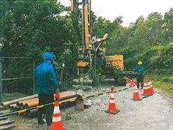 解決缺水問題 金山西湖里鑿井