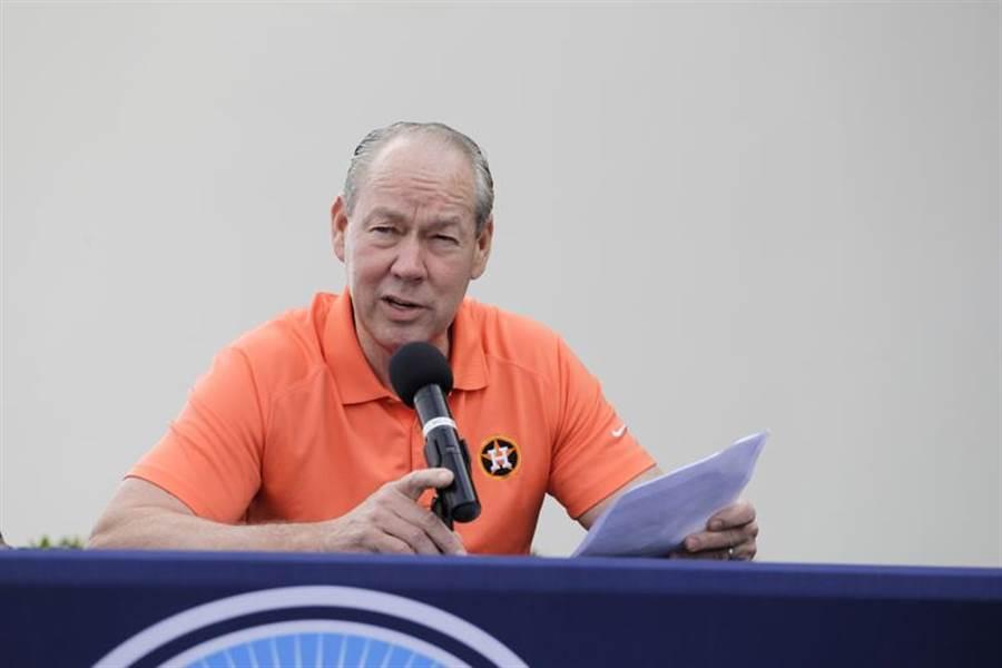 太空人老闆克朗認為作弊並沒有影響比賽結果。(美聯社)