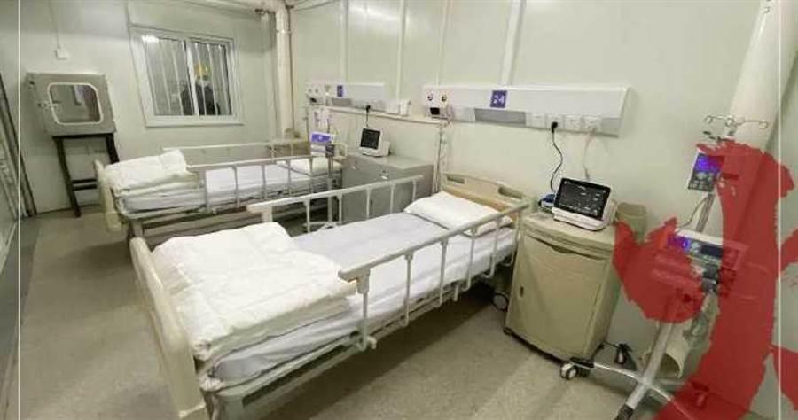 傳火神山醫院招募清潔員。(圖/翻攝自 人民日報 臉書)