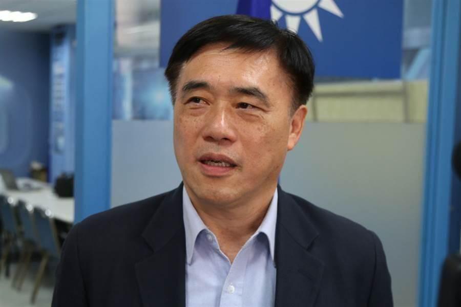 國民黨主席補選候選人郝龍斌。(報系資料照)