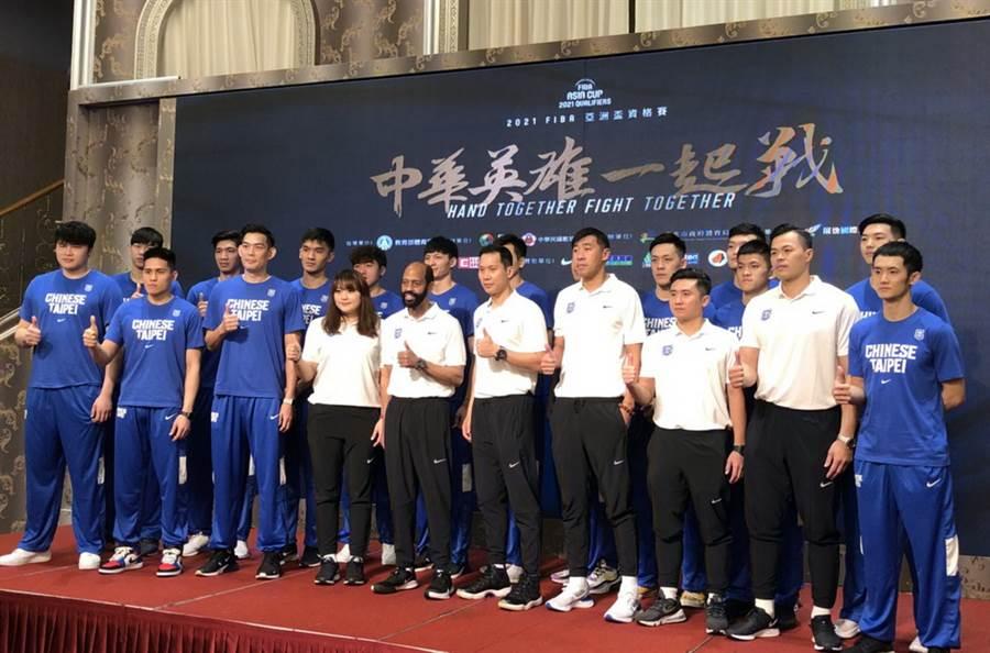 亞洲籃總(FIBA Asia)已經來函確定,中華隊在亞洲盃資格賽第1階段的兩場主場比賽繼續舉辦。(黃及人攝)