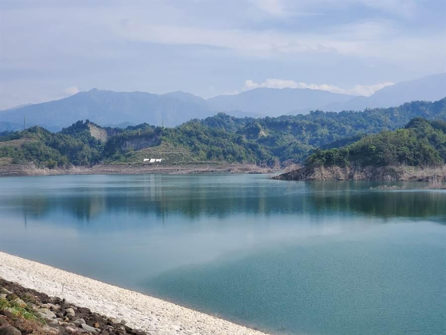 湖山水庫目前已穩定供水給雲林、嘉義、彰化的民生用水。(周麗蘭攝)