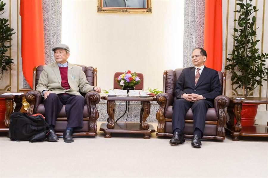 台灣聯合國協進會昨拜會立法院長游錫堃,呼籲立院盡速通過「台灣加入世界衛生組織(WHO)決議文。(立法院提供/朱真楷傳真)