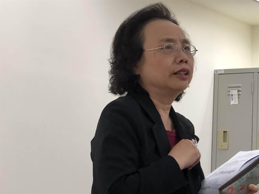 勞動部勞動福祉退休司司長孫碧霞。