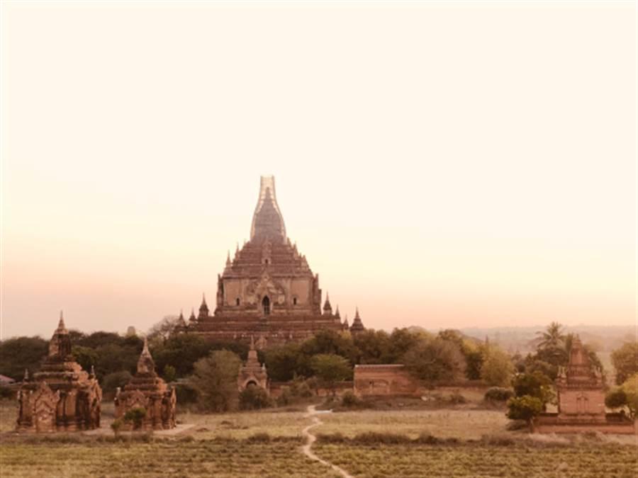 緬甸佛寺與佛塔(圖片取自/達志影像)