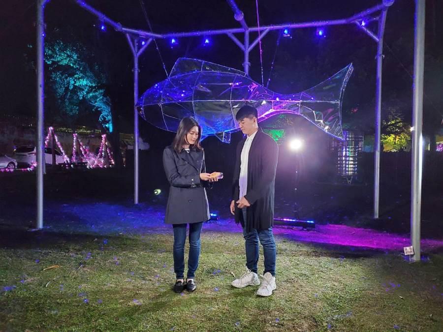 雲林縣結合北港燈會與情人節,推出愛情微電影。(雲林縣文化觀光處提供/張朝欣雲林傳真)