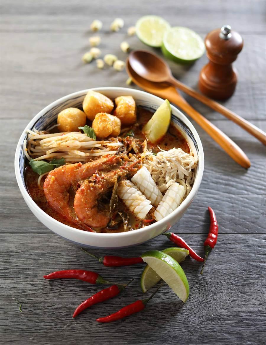 Asia 49-檳城咖哩叻沙麵。(圖取Mega 50官網)