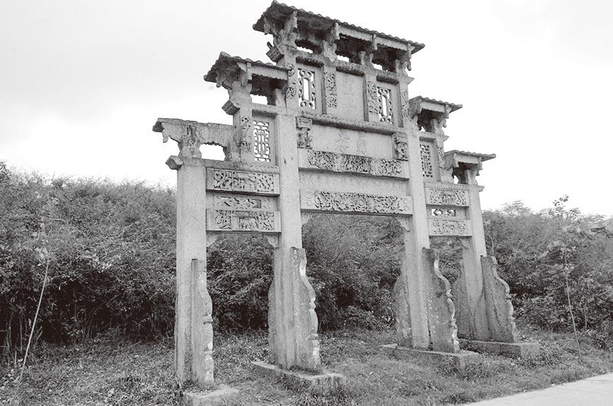 貞節牌坊。(新華社資料照片)