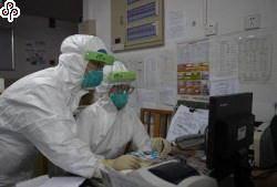 大陸新冠肺炎新增確診病例2009例 累計68500例