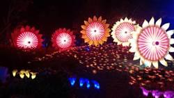 台灣燈會「永晝島向陽之丘」 象徵陽光施政