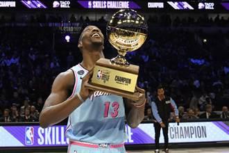 NBA》技術挑戰賽 阿德巴約爆冷摘冠