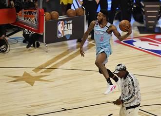 NBA》傻眼!瓊斯驚險摘灌籃大賽冠軍